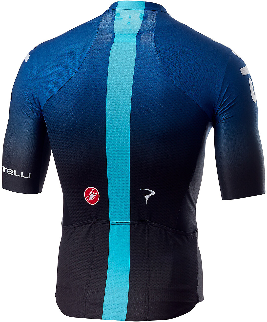 Castelli Team Sky Aero Race 6.0 Bike Jersey Shortsleeve Men blue black 6e7bdc6b9